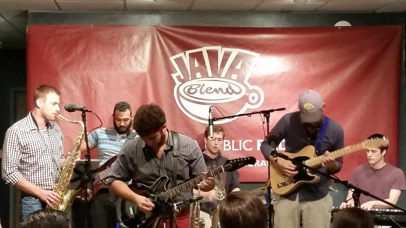 Dan DiMonte and the Bad Assettes perform at the Java House