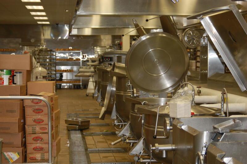 Iowa State Penitentiary kitchen