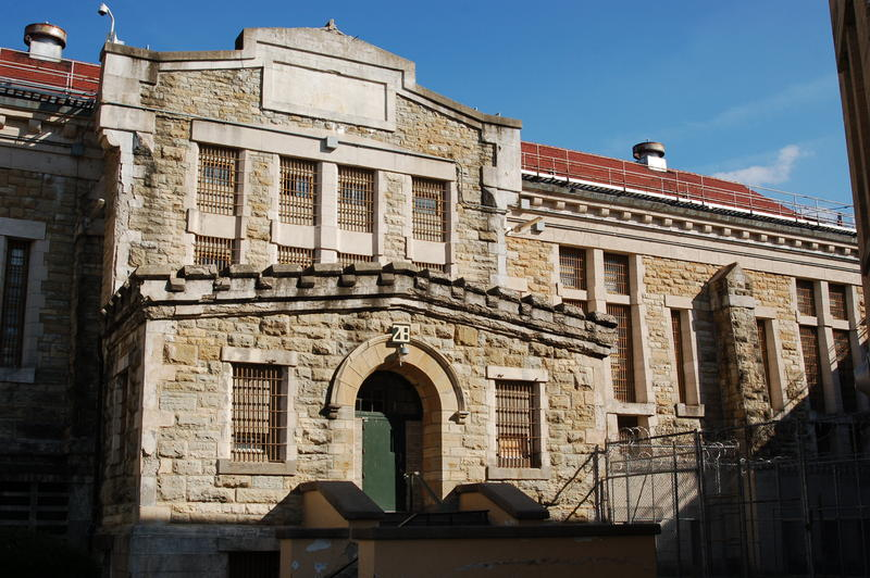 A cell house at the former Iowa State Penitentiary