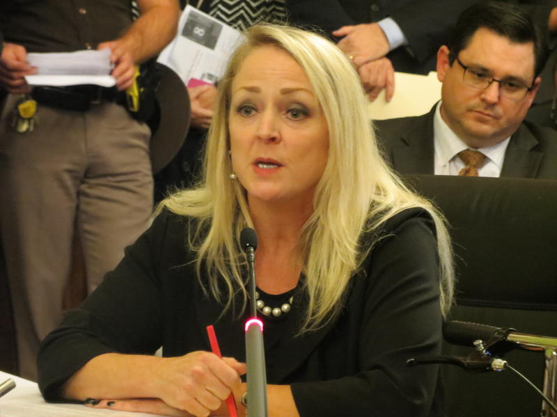 Iowa Department of Revenue official Victoria Daniels.
