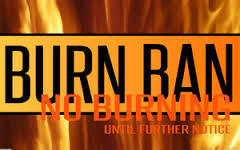 The burn bans in effect for about a quarter of Iowa  extened to the state parks