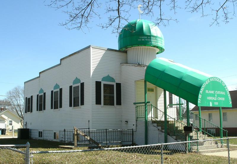 the Mother Mosque of America, located in Cedar Rapids, Iowa