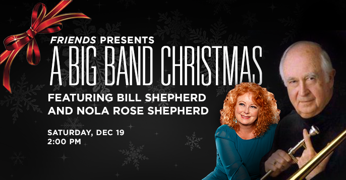 Bill Shepherd's Big Band Christmas show, coming to UNI's Gallagher-Bluedorn Performing Arts Center