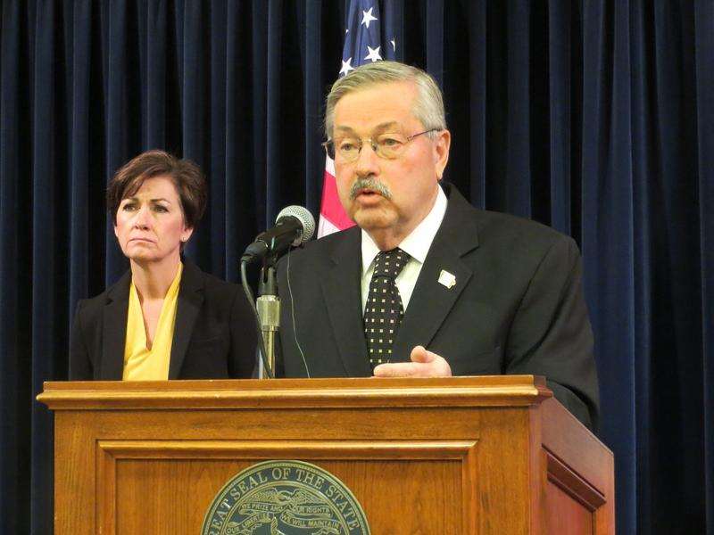 Governor Terry Branstad and Lieutenant Governor Kim Reynolds