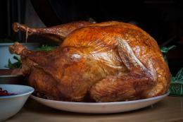 The National Turkey Federation estimates Americans eat 46 million turkeys for Thanksgiving dinner.
