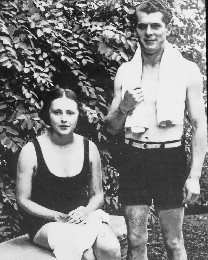 Fredrik Hans Carl Wachtmeister and wife Brita.