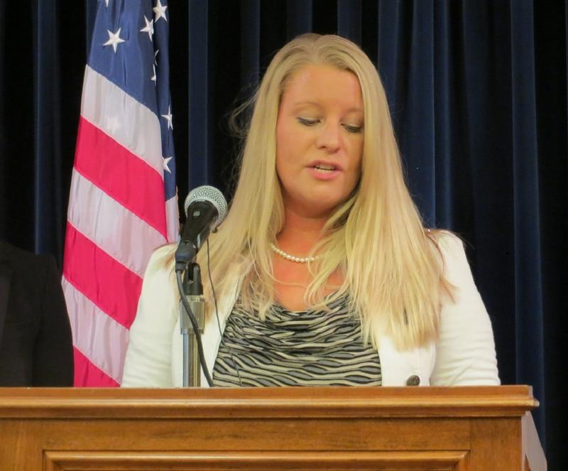 Council Bluffs Language Arts Teacher Samantha Adams