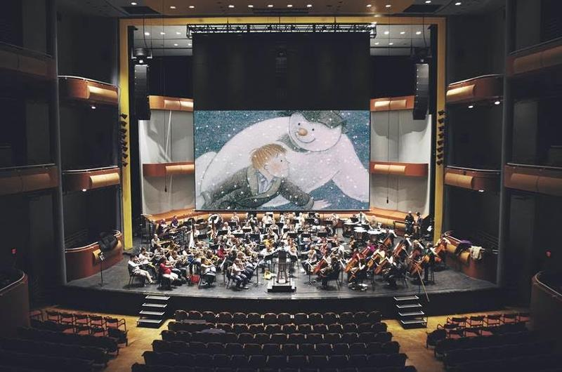 The wcfsymphony performs Howard Blake's score for The Snowman