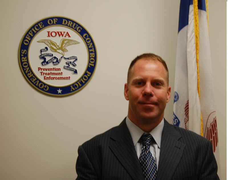 Steve Lukan, Director of the Iowa Department of Drug Control Policy