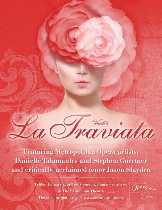 The CROT's production poster for La Traviata