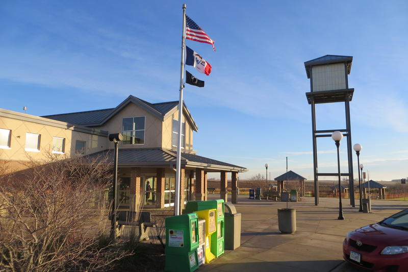 Rest areas first appeared in the mid-60s. Iowa has 38 full service stops.