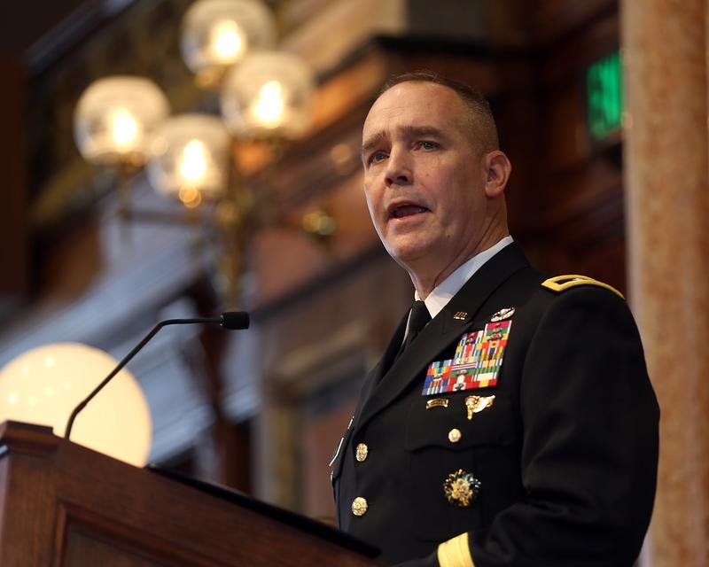 Iowa National Guard Adjutant General Timothy Orr