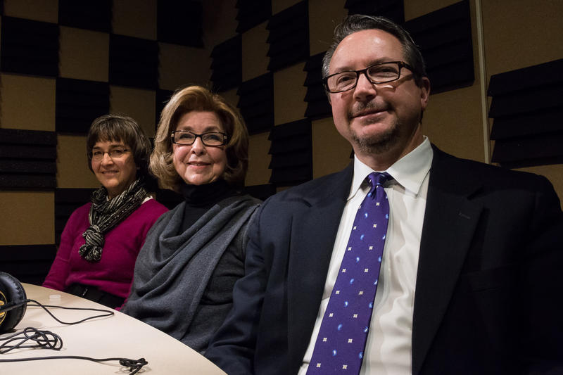 Margaret Guth, Judy Porter, and Dan Durant in the Des Moines studio talking about how they feel about the upcoming election and how those feelings are shaping their candidate preferences.