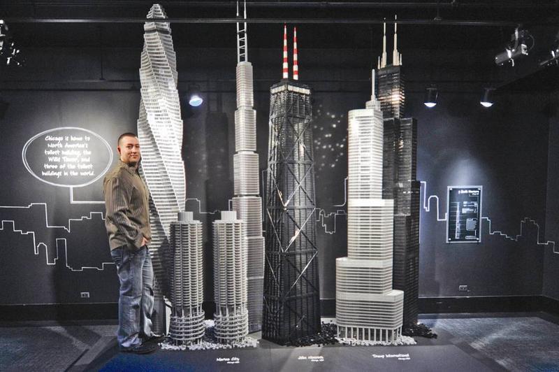 LEGO Artist Adam Reed Tucker