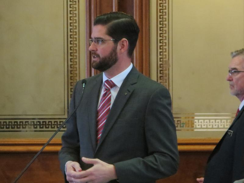 Rep. Matt Windscshitl (R-Missouri Valley)
