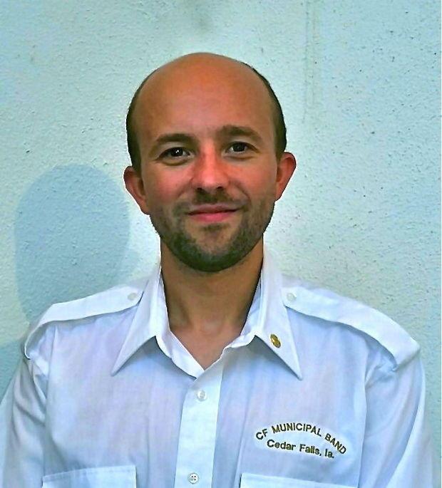 Percussionist Matthew Andreini