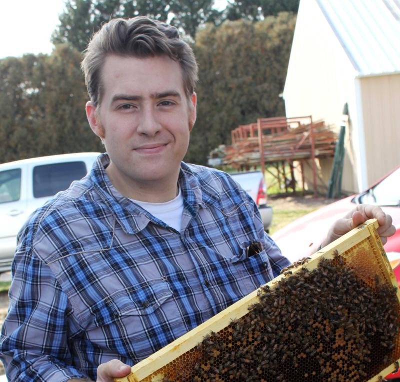 Iowa State University's Adam Dolezal says new research shows that people have contributed to honeybee disease spread.