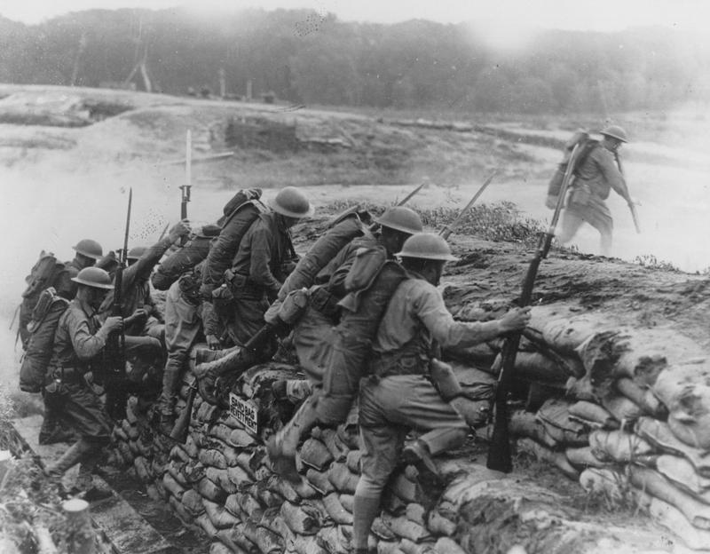 Although they saved lives, most combat injuries were in the trenches.