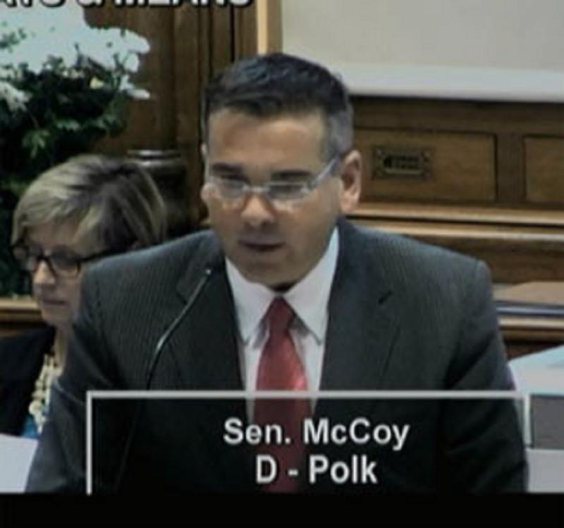 Senator Matt McCoy (D-Des Moines)