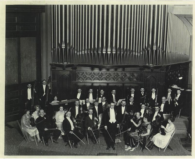 Oldest known photo of the Sioux City Symphony