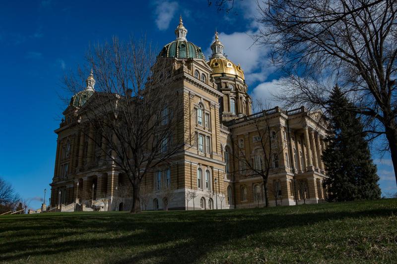Iowa Capitol.