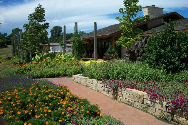 The Mahlstede Building at Reiman Gardens in Ames.
