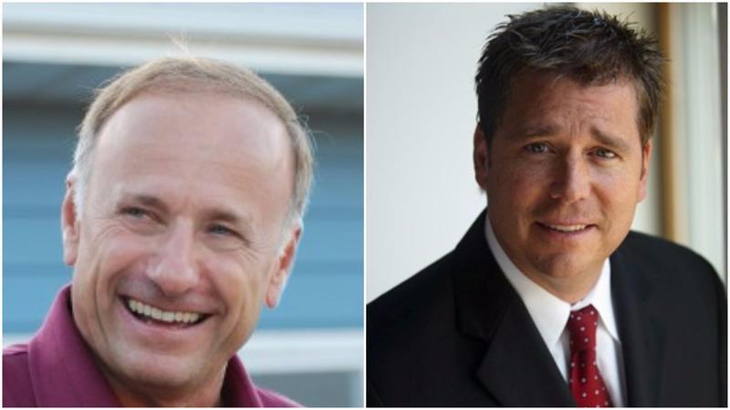 U.S. Rep Steve King and Republican challenger, State Rep. Rick Bertrand