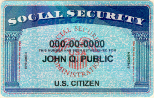 Social Security Number and Card | Social Security ...
