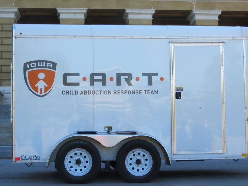 Department of Public Safety CART vehicle