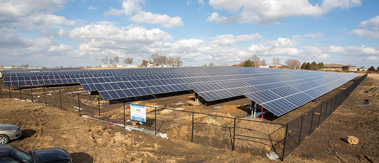 Simple Solar project in Cedar Falls