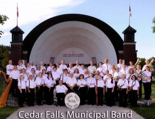 The Cedar Falls Municipal Band