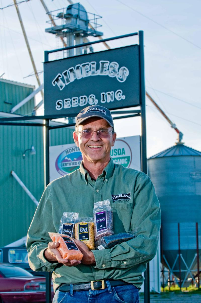 Montana farmer David Oien launched a movement when he started growing lentils and recruited others to join him.