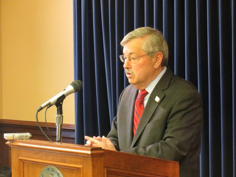 Gov. Terry Branstad, weekly news conference, May 2, 2016