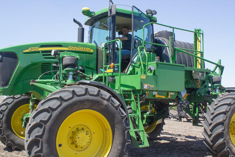 This sprayer and other equipment at Bristle Farms may be repaired or updated rather than being replaced as the Bristle family looks to spread their costs across more growing seasons.