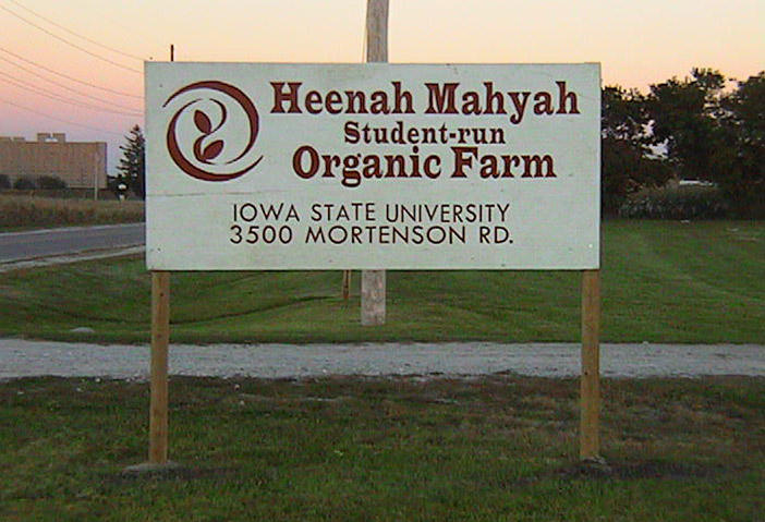 "The farm originally took the name Heenah Mahyah, which founders said means ""Mother Earth"" in Ioway, a Native American language from the area."