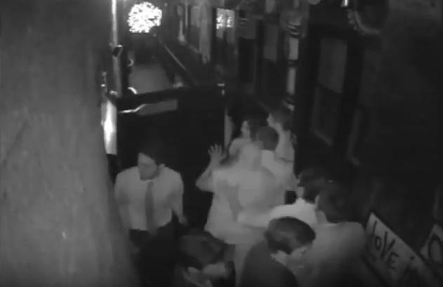 Video from the Eden Lounge in Iowa City.  Police say it shows UI student Marcus Owens as a participant in an altercation early on May 1.