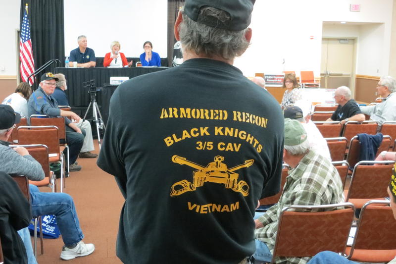 Vietnam Veterans of American sponsored the event.