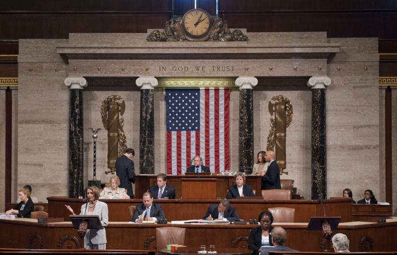 Democratic Representatives took over the floor of the House of Representatives this morning protesting the lack of action on gun legislation.