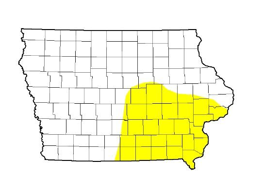 "The latest United States Drought Monitor map for Iowa shows nearly 27% of the state considered ""abnormally dry"", up from 14% the previous week."