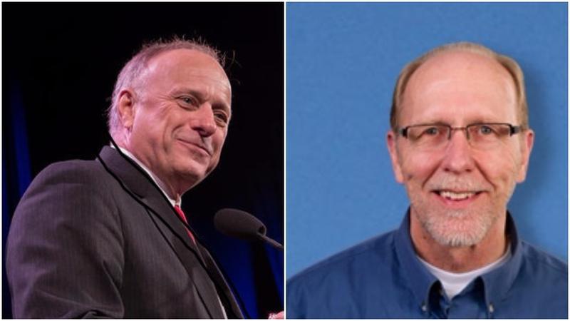 U.S. Reps. Steve King (left) and Dave Loebsack