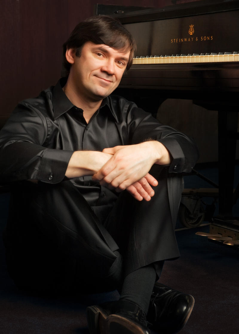 Competition Co-Founder and pianist Dmitri Vorobiev