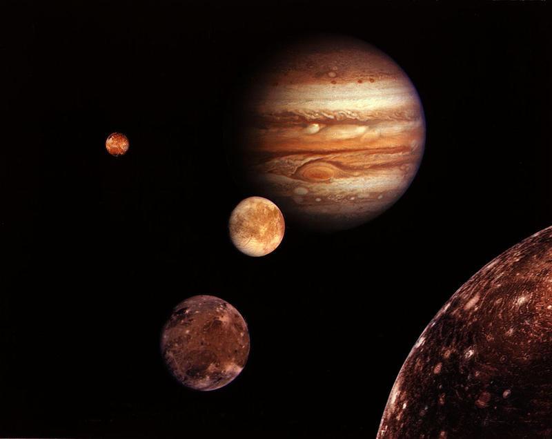 Jupiter and its moons