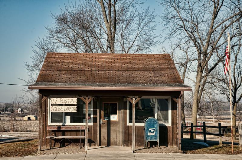 Goose Lake, Iowa - population 240