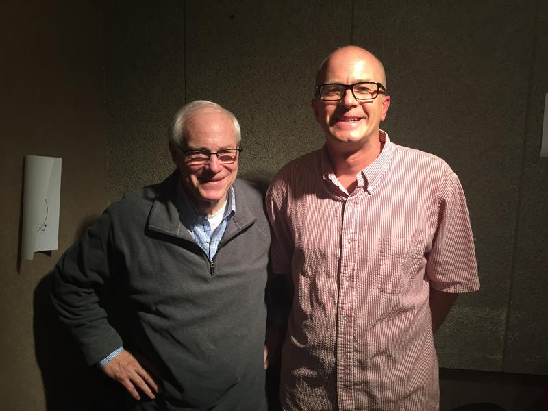 Jim Leach and River to River host Ben Kieffer