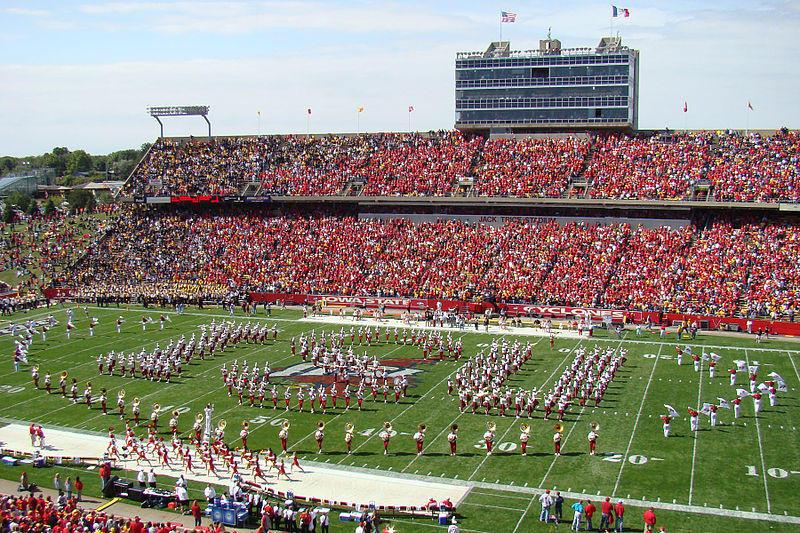 Jack Trice Stadium at Iowa State University