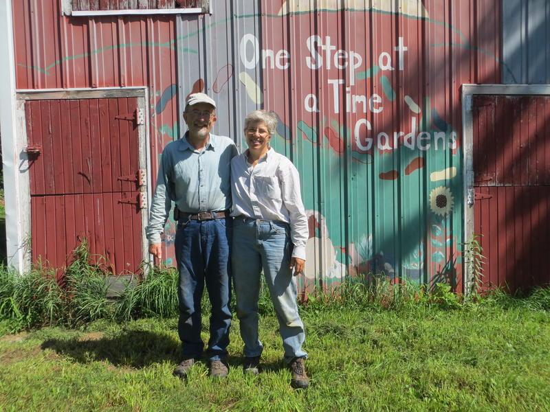 Jan Libbey and Tim Landgraf offer CSA shares produced on their farm near Kanawha