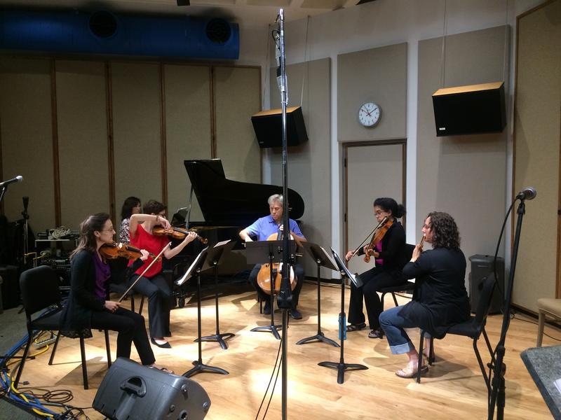 Violins Kirsten Yon & Tara Lynn Ramsey, cello Stefan Kartman, viola Yvonne Smith, flute Michelle Cheramy, piano Jeannie Yu