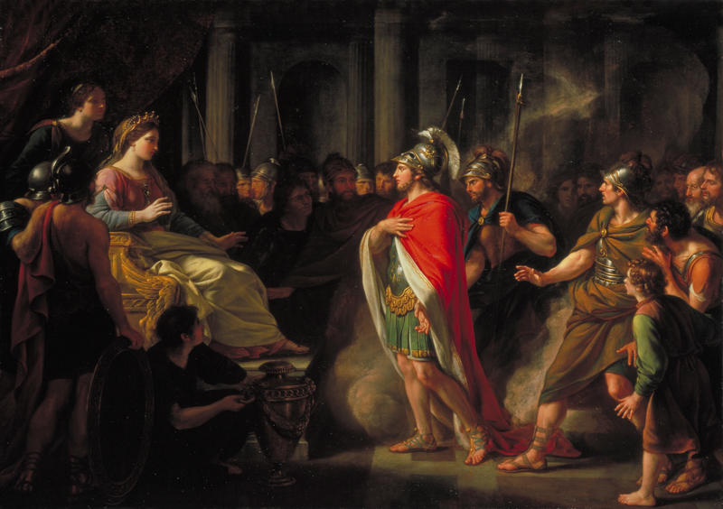 """The Meeting of Dido and Aeneas"""