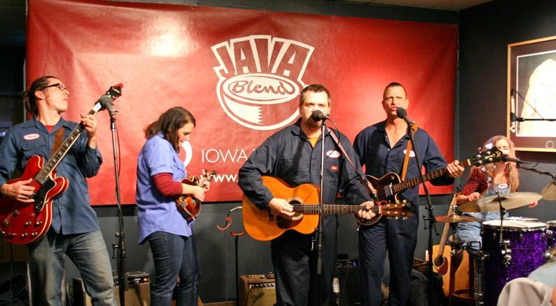 The Muckrockers play at The Java House