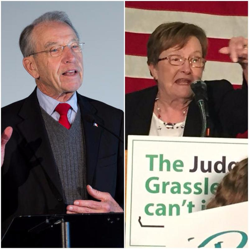 Former Lt. Gov Patty Judge (D.) trails U.S. Sen. Chuck Grassley by nine points in a recent Quinnipiac University poll.
